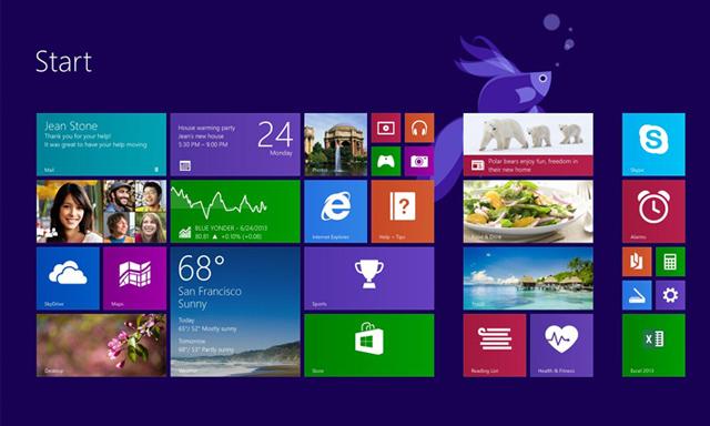 hệ điều hành windows 8