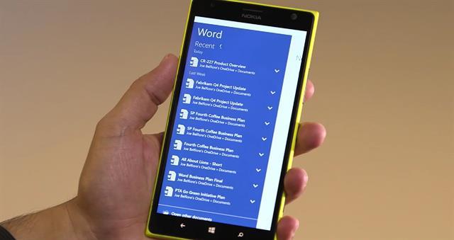 Hình ảnh Windows Phone 10 chính thức ra mắt, nhiều tính năng hấp dẫn số 4