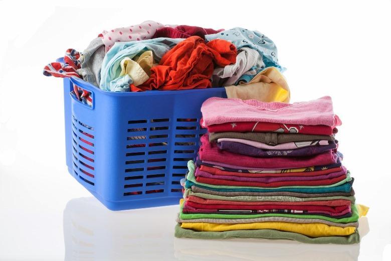 Quần áo được giặt sạch sẽ và có độ bền cao