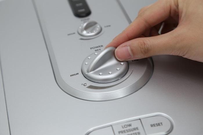Nút điều chỉnh nhiệt độ bị hỏng, không hoạt động