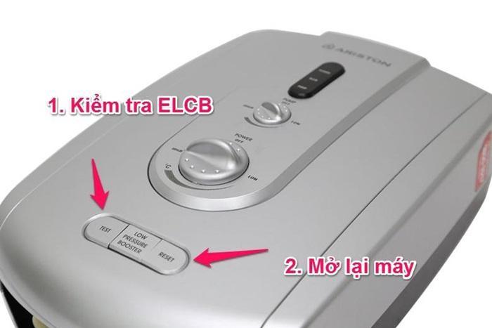 Kiểm tra xem ELCB/ELB có bị ngắt không, nếu không có vấn đề gì về điện, mở lại để sử dụng tiếp