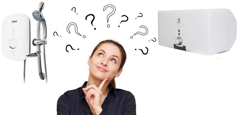 Nên lựa chọn máy nước nóng trực tiếp hay gián tiếp?
