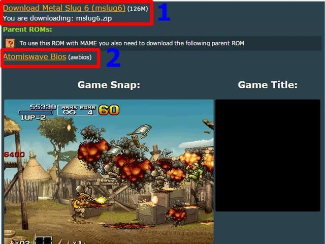 Hướng dẫn chạy giả lập game MAME Tây Du Ký 2 và Rambo lùn 6