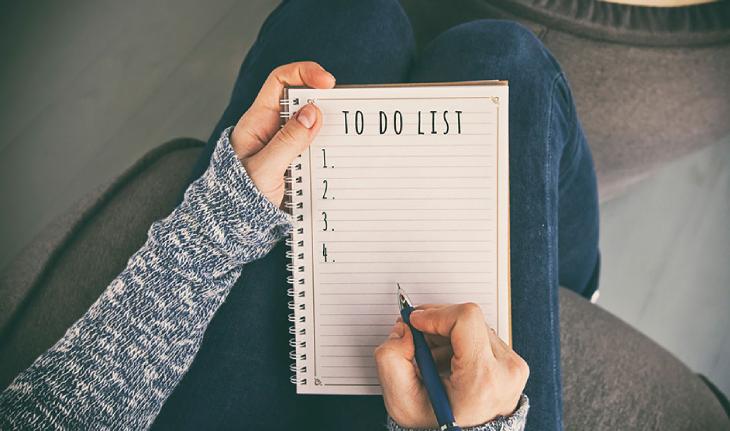 Lập danh sách những đồ dùng cần mua