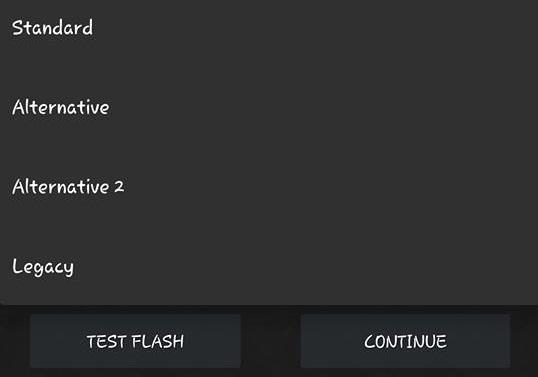 Test Flash máy