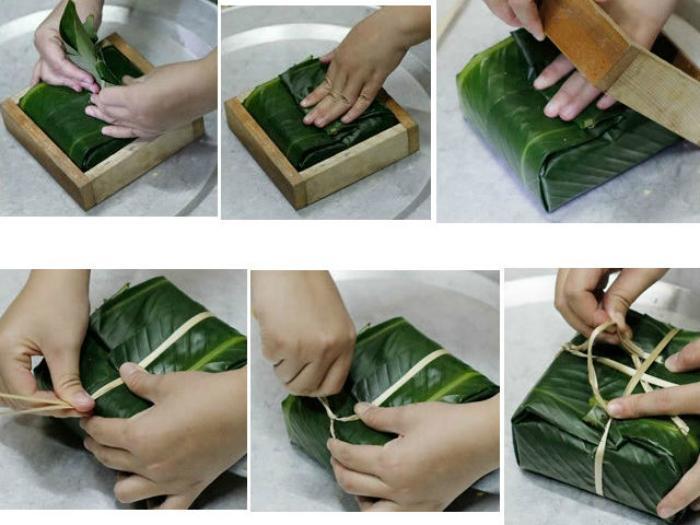 Bước 3 Gói bánh Bánh chưng