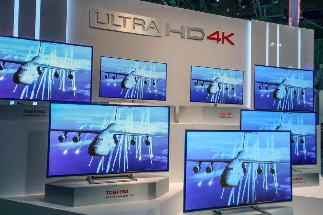 Tivi Toshiba 4K đang là xu xướng mới mà hãng theo đuổi