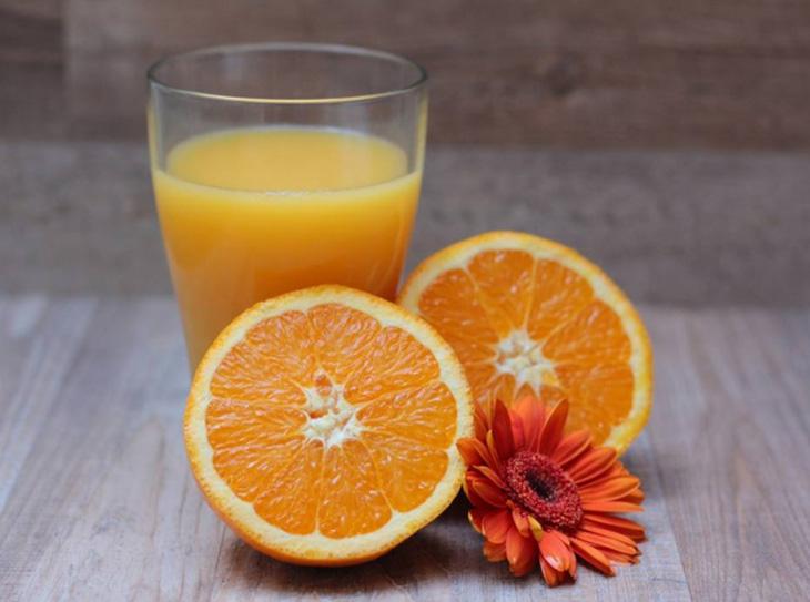 giải rượu bằng cam quýt