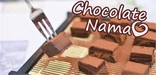 [Video] Hướng dẫn chi tiết cách làm nama chocolate - Sô cô la tươi
