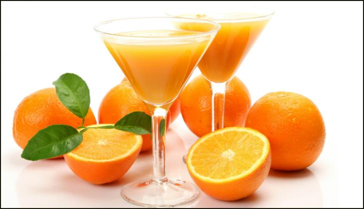 Đường fructose có trong nước cam sẽ giúp tiêu hóa rượu nhanh