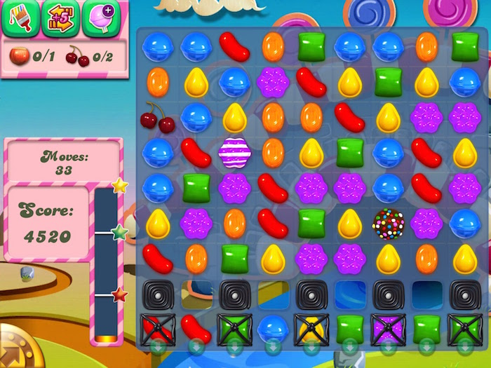 Candy Crush Saga Game di ??ng mang l?i h?n 1 t? USD