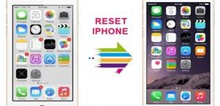 Cách khôi phục cài đặt gốc (Reset) iPhone để máy chạy nhanh hơn