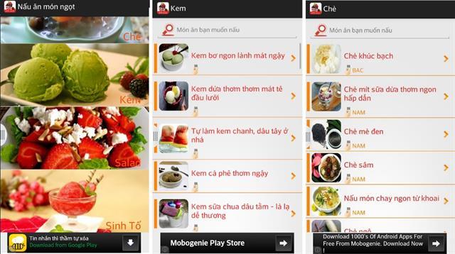 Android: 5 ứng dụng nấu ăn giúp bạn lên thực đơn cho 8/3 9