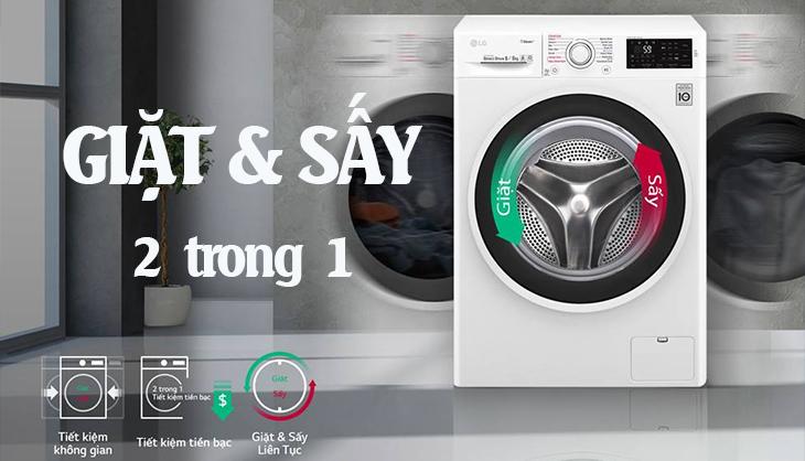 Một số loại máy giặt trên 15 triệu đã có chức năng sấy tích hợp