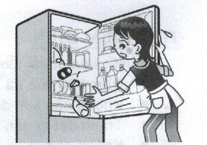 Tránh chất thực phẩm quá cao gần cửa tủ lạnh