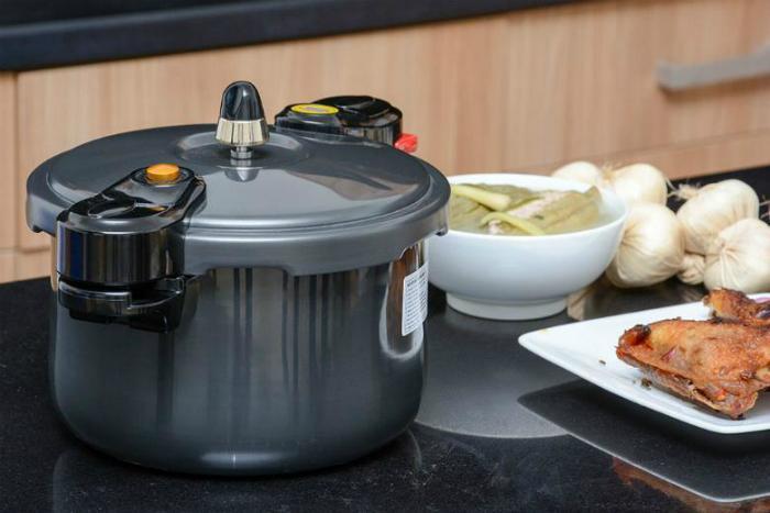 Dùng nồi áp suất để nấu nhanh hơn