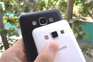 So sánh Galaxy A3 và Galaxy E7, phần 2 – hiệu năng, camera, phần mềm và pin