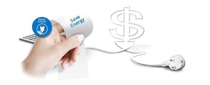Máy lạnh Inverter giúp tiết kiệm điện năng đáng kể
