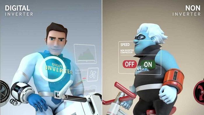 Thế nào là máy lạnh inverter?