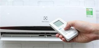 Các lệnh cơ bản trên remote máy lạnh Electrolux