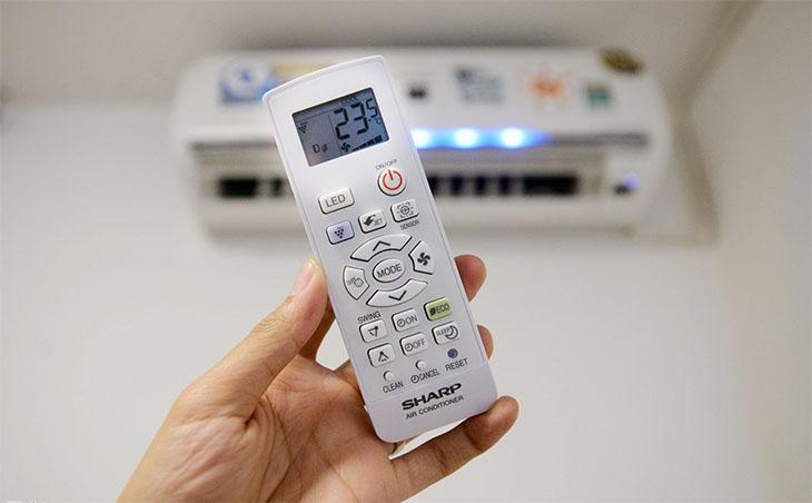Điều chỉnh nhiệt độ phù hợp với nhu cầu sử dụng