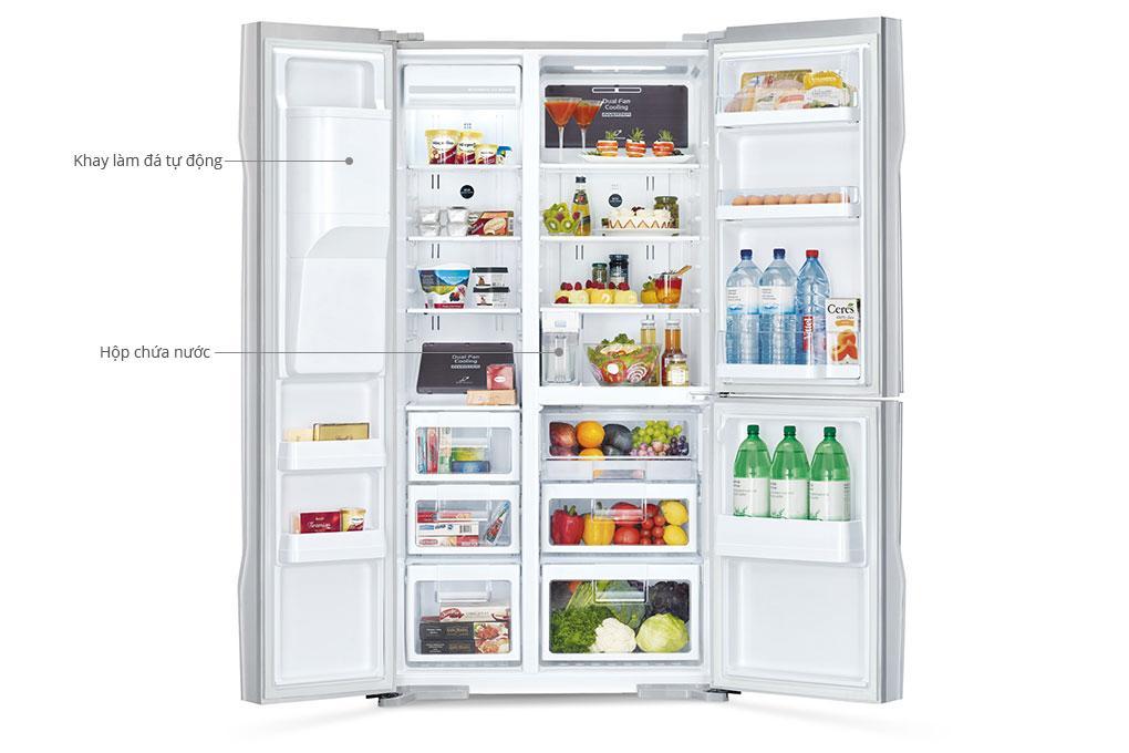 Làm đá tự động trên tủ lạnh hoạt động thế nào? Cách làm ra sao?
