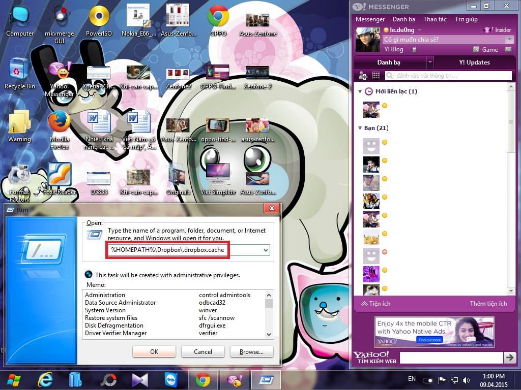 Hướng dẫn xóa bộ nhớ cache của Dropbox trên Windows và Linux