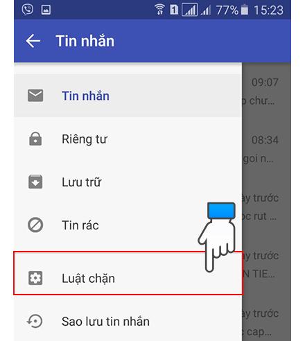 Cách chặn tin nhắn quảng cáo trên điện thoại Android