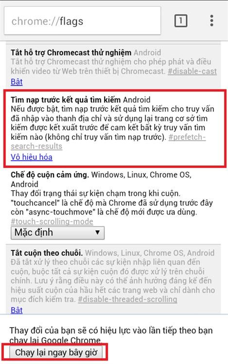 Android: 5 tính năng trên Chrome có thể bạn không biết