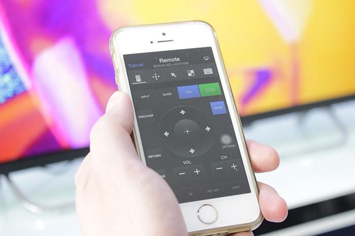Tivi Side View là ứng dụng giúp điều khiển tivi Sony