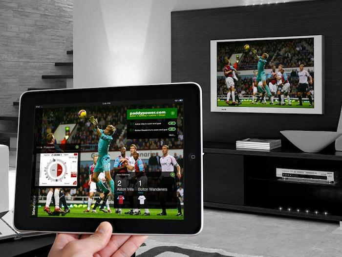 Air Play cho phép chia sẻ nội dung không dây giữa iPad và tivi