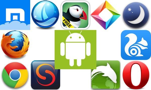 trình duyệt web trên Android