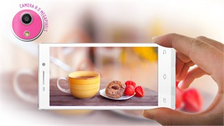 3 smartphone màn hình HD, máy ảnh 8