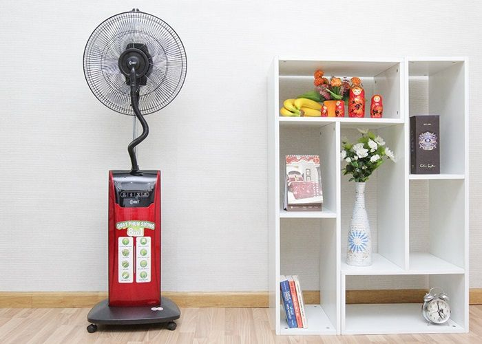 Sử dụng quạt phun sương hiệu quả, an toàn, tiết kiệm điện