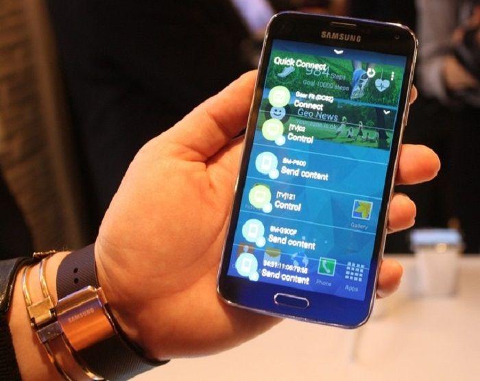 Quick Connect cho phép kết nối nhanh giữa điện thoại Samsung và tivi có hỗ trợ kết nối này