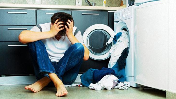 Vết xám hoặc đen trên đồ giặt
