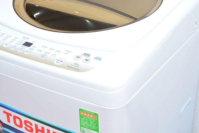 Bảng điều khiển nóng khi giặt là hiện tượng bình thường