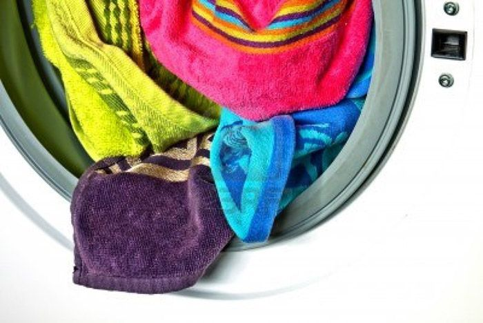 Đồ giặt không được sắp xếp cân bằng có thể gây ra tình trạng cấp nước đột ngột