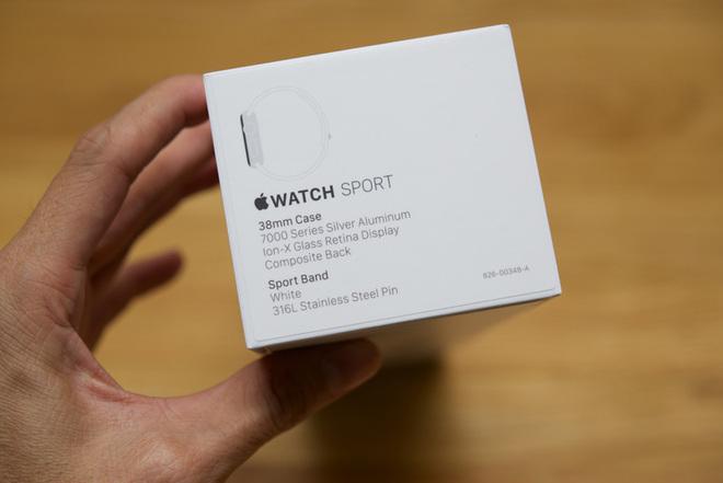 Thông tin về Apple Watch Sport