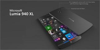 Xuất hiện mẫu Lumia 940 XL đẹp 'dã man' với RAM 4GB, màn hình 2K cùng camera 24.2MP