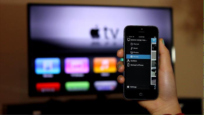 Kết nối iPhone với tivi qua AirPlay