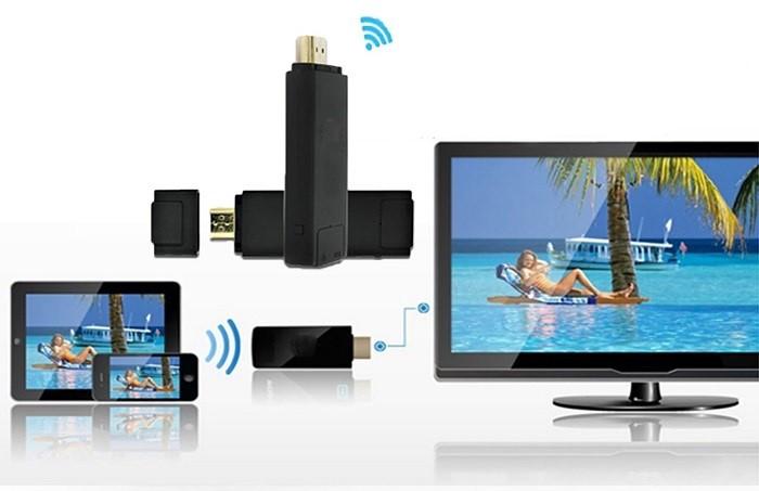 HDMI không dây giúp kết nối tivi với điện thoại