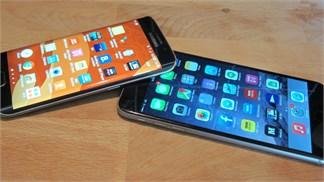 [So sánh] Galaxy S6 Edge và iPhone 6 Plus
