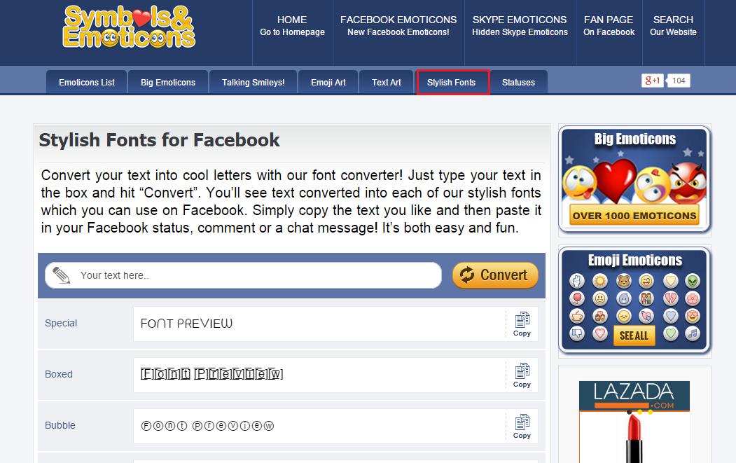Biến hình' Facebook với font chữ độc đáo  Ngạc nhiên chưa?