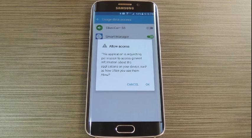 Kích hoạt SilentCam S6 và chọn Ok để xác nhận