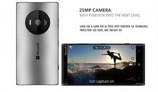 Xuất hiện mẫu Lumia 940 và 940 XL với camera 25MP đẹp 'không tì vết'