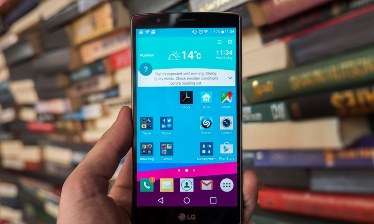 LG G4 mặt trước