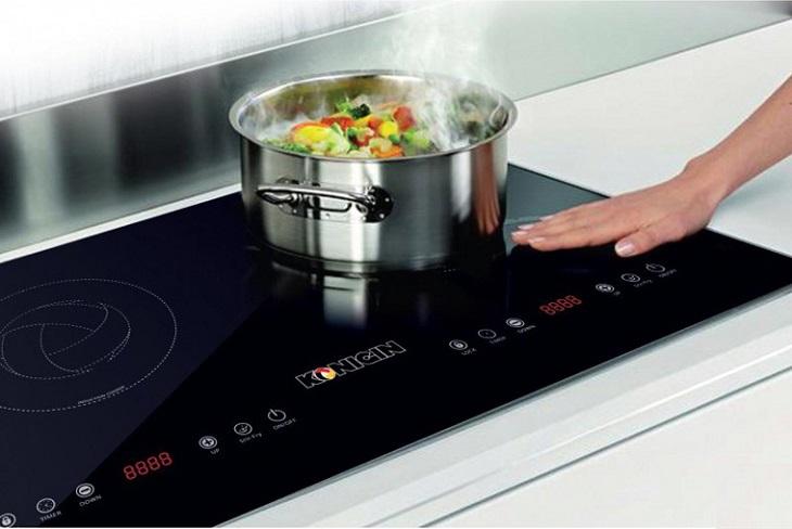 Không để bếp hoạt động ở nhiệt độ cao trong thời gian dài