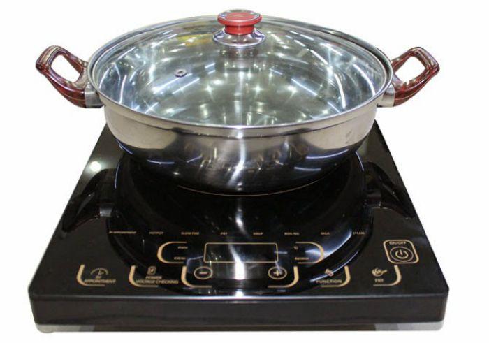 Nên dùng nồi có từ tính để nấu