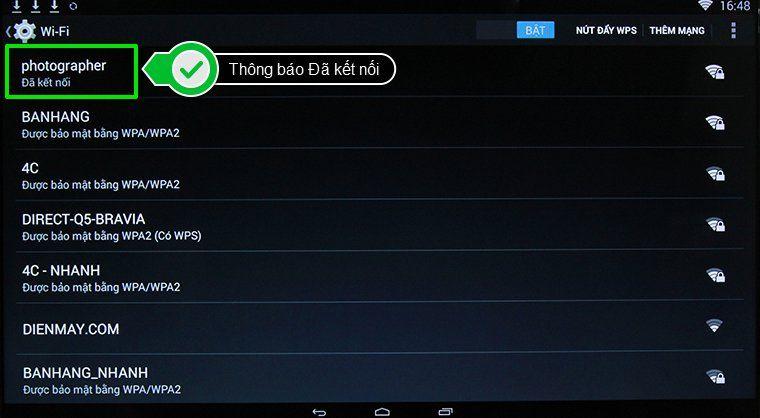 Cách kết nối mạng tivi Toshiba-6
